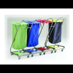 Chariot sacs à linge accrochables