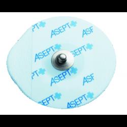 Electrodes prégélifiées mousse contact métal - 50 x 48 mm