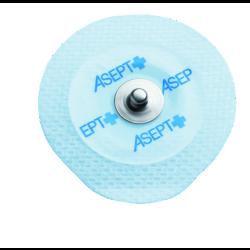 Electrodes prégélifiées textile contact métal - 45 x 42 mm
