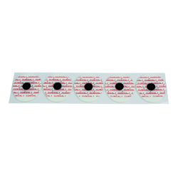Electrodes prégélifiées - 32 x 44 mm.