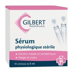 Sérum physiologique - 30 doses de 5 ml