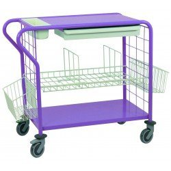 Le chariot de change Mini - coloris myrtille
