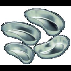 Haricot inox - L 16 x l 8,5 x H 3,5 cm.