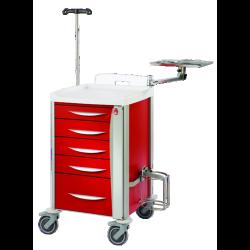 Chariot d'urgences compact Adhésia Equipements