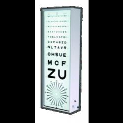 Échelles optométriques lumineuses
