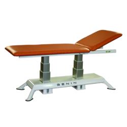 Table bi-plan à double colonnes