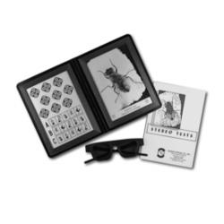 Lunettes test de la mouche