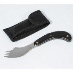 Couteau-fourchette pliant