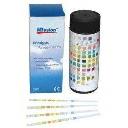 Bandelettes réactives pour analyse d'urine - Boîte de 50 bandelettes