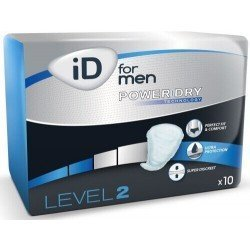 iD FOR MEN LEVEL 2 - Le paquet de 10