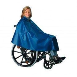 Poncho pour fauteuil roulant - Coloris Bleu