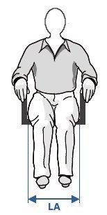 Mesurer la largeur d'assise