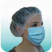 Masque de soins avec élastiques